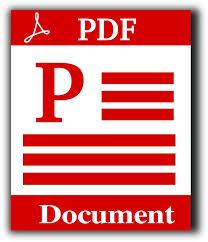 PDF brochure symbol